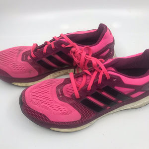 Adidas Energy Boost Pink Sneakers Size 8.5